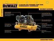 Spec Sheet - Power Equipment Direct