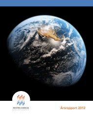 Årsrapport 2012 - Mistra-SWECIA