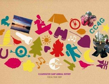 CLEARWATER CAMP ANNUAL REPORT FISCAL YEAR 2009