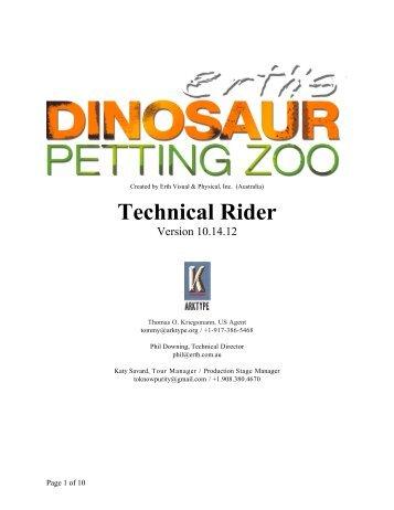 Technical Rider - ArKtype