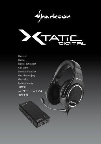 x-tatic digital - Sharkoon