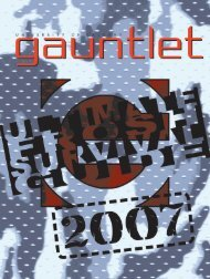 Frosh Ultimate Survival Guide 2007 - The Gauntlet