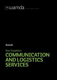COMMUNICATION AND LOGISTICS SERVICES - Wamda.com