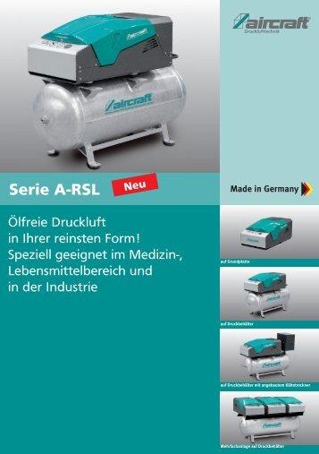 Serie A-RSL - Aircraft