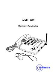 Handleiding AMI 300 zorgtelefoon - Brink Techniek