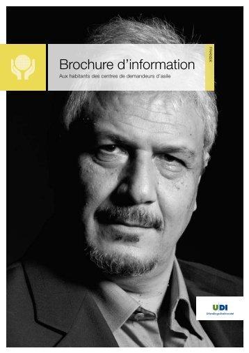 Brochure d'information - UDI