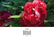 Preise 2013 - Hotel Heubad