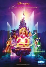 CATALOGO AUTUNNO/INVERNO 2012-2013 - Disneyland® Paris