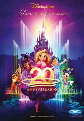 CATALOGO AUTUNNO/INVERNO 2012-2013 - Disneyland® Paris