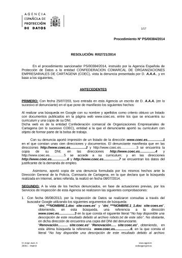 PS-00384-2014_Resolucion-de-fecha-09-12-2014_Art-ii-culo-9-LOPD