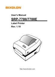 SRP-770II/770IIE - BIXOLON