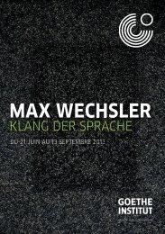 MAX WECHSLER