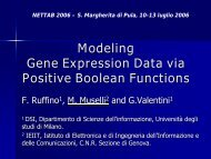 Modeling Gene Expression Data via Positive Boolean Functions