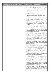 Création, Organisation et Fonctionnement des Directions de Wilayas ...