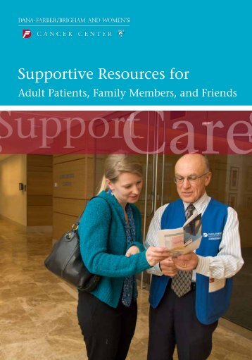 Supportive Resources for - Dana-Farber Cancer Institute