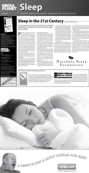 1 Foreword: Sleep in the 21st Century - The American Academy of ...