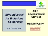 EPA Industrial Air Emissions Conference