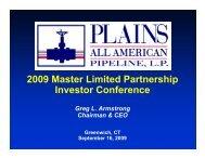 Plains All American Pipel - Rationalinvesting.com
