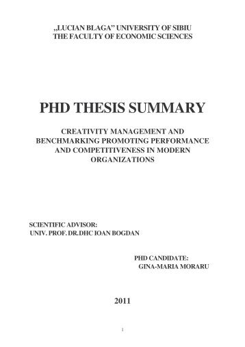 Computer science phd thesis