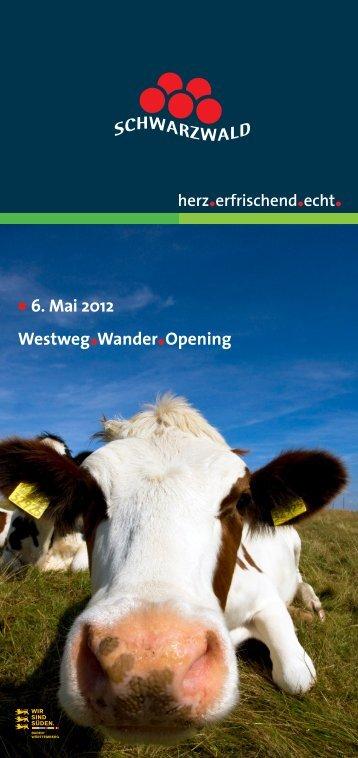Westweg Wander Opening 6. Mai 2012 - Kurgarten-Hotel