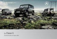 La Classe G - Mercedes-Benz France