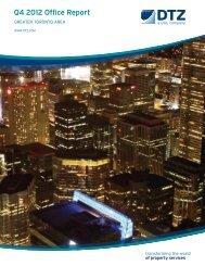 Q4 2012 Office Report - DTZ