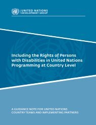Guidance Note on Including the Rights of Persons with ... - CBM