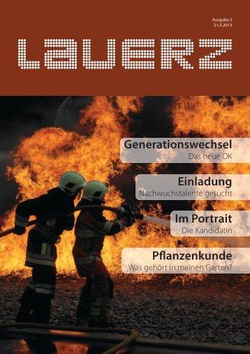 Generationswechsel Einladung Im Portrait ... - Gemeinde Lauerz