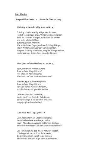 Jean Sibelius - Kurhaus Ahrenshoop