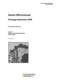 Gamla Officershuset - Stiftelsen Kulturmiljövård