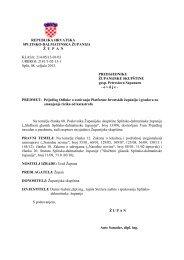 6. Prijedlog odluke o osnivanju Platforme hrvatskih županija i ...