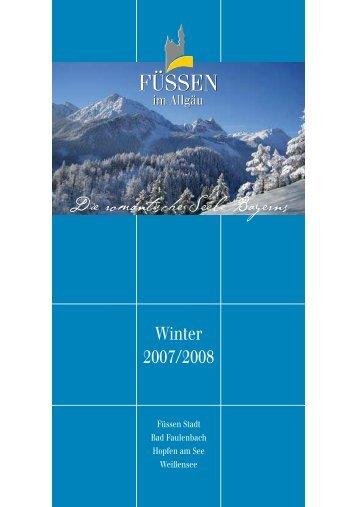 Winterfolder F Ssen Image - Hotel Schlosskrone - Füssen
