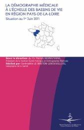Atlas des Pays de la Loire 2011 - Conseil National de l'Ordre des ...