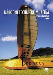 Výroční zpráva 2006 - Národní technické muzeum