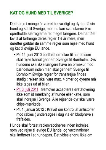 Ormekur Sverige