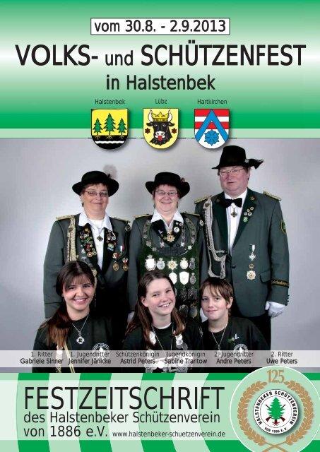 Festzeitschrift 3 1 Mb Halstenbeker Scha Tzenverein Von 1886 E V