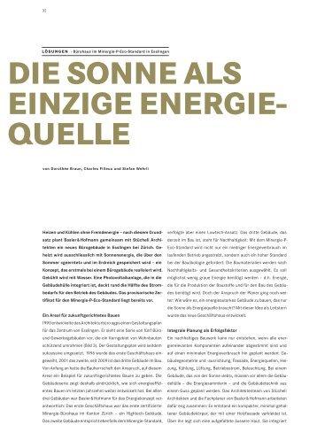 Energiefachbuch 2010 - Basler & Hofmann