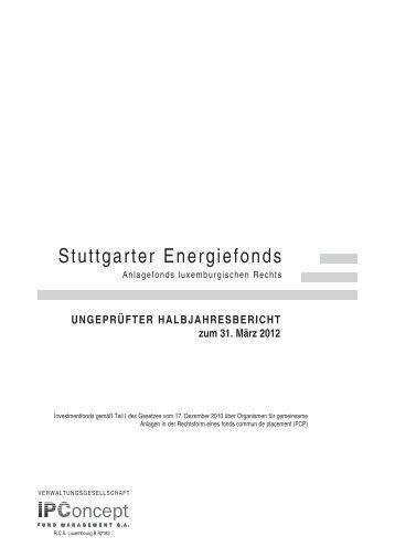 Halbjahresbericht - Weiler Eberhardt Depotverwaltung AG