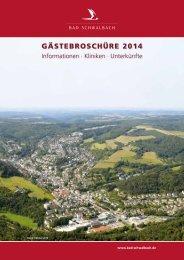 Gästebroschüre 2014 (pdf 5486 KB) - Bad Schwalbach