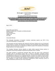 read the letter to Minister Kenny - HAC