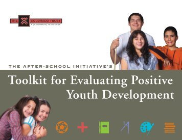Toolkit for Evaluating Positive Youth Development