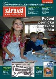Pečení perníčků v říčanském Domečku - Zápraží