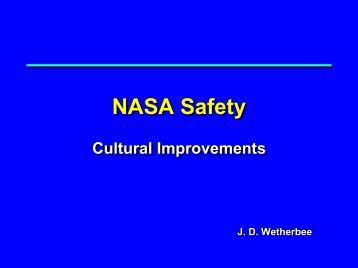 Culture of nasa