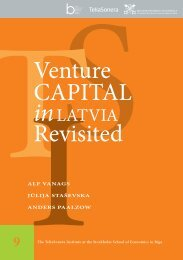 Venture CAPITAL Revisited - BICEPS