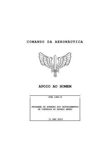 comando da aeronáutica apoio ao homem - DECEA