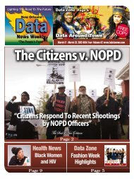 """Citizens Respond To Recent Shootings by NOPD Officers"""