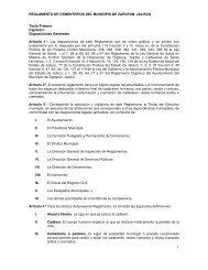Reglamento de Cementerios del Municipio de Zapopan, Jalisco