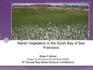 Using Remote Sensing to Map the Evolution of Marsh Vegetation in ...