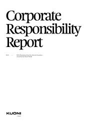Corporate Responsibility Report 2010 PDF • 1.47 MB - Kuoni