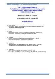Invited Lectures - IZS della Lombardia e dell'Emilia Romagna